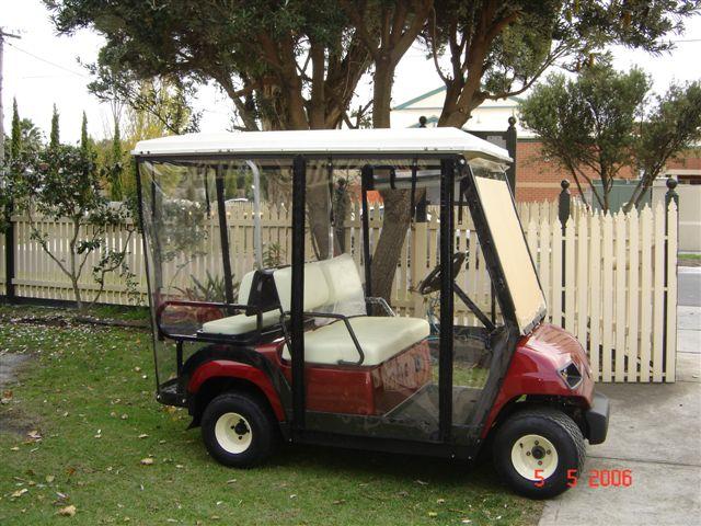 Golf Cart Clear Rain Enclosure Golf Cart Clear Rain